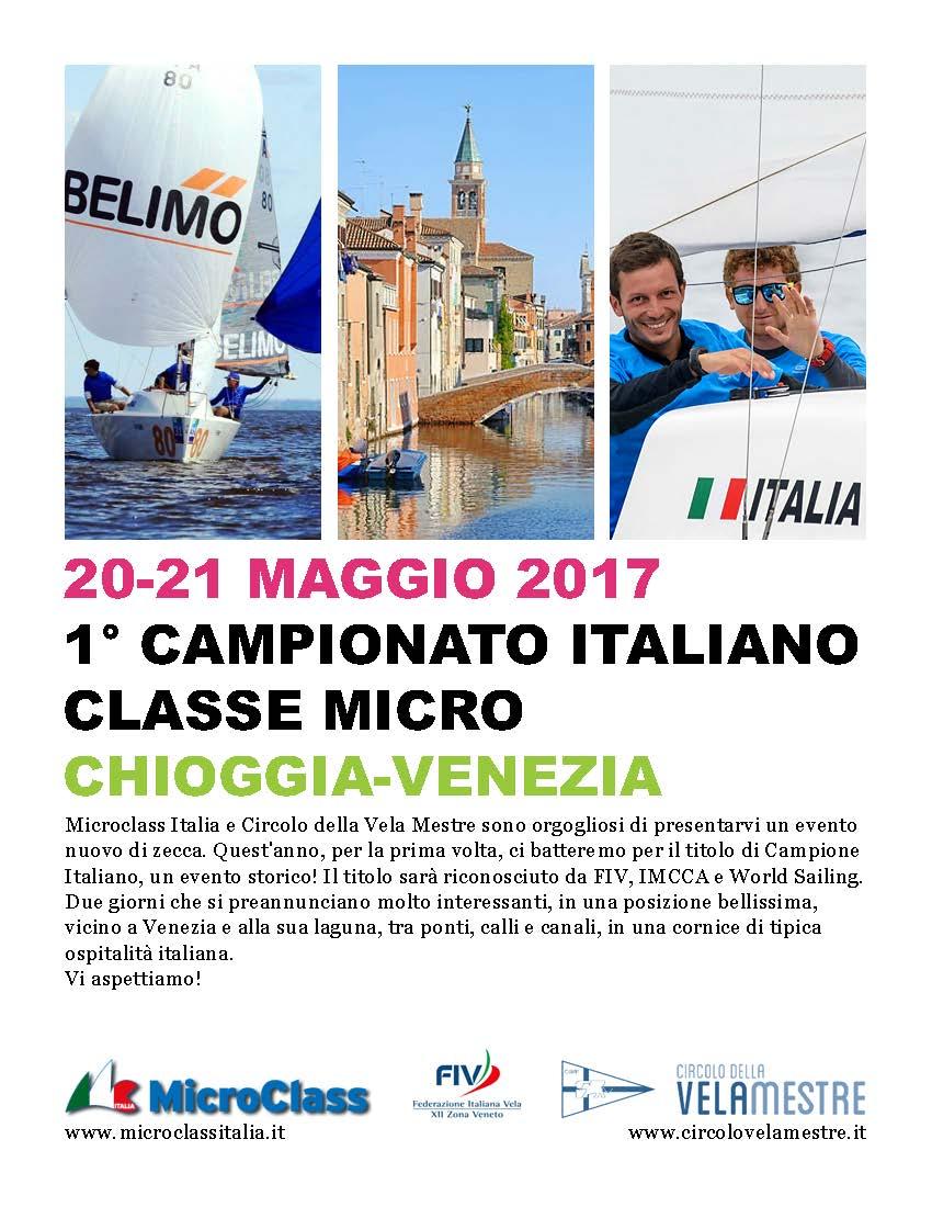 2017 il primo Campionato Italiano classe Micro
